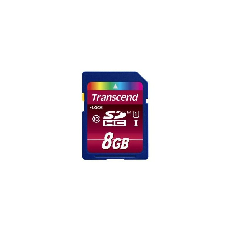 SD-Karte Transcend 8 GB