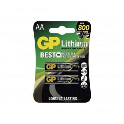 Batterien GP Lithium AA FR6, 1,5 V - 4 St.
